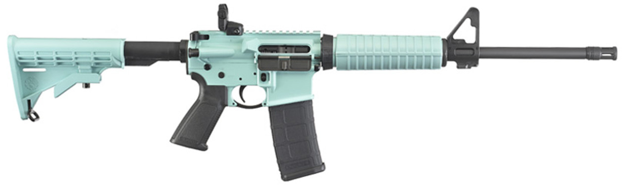 Ruger AR556 Talo CALIFORNIA LEGAL - .223/5.56 - Turquoise