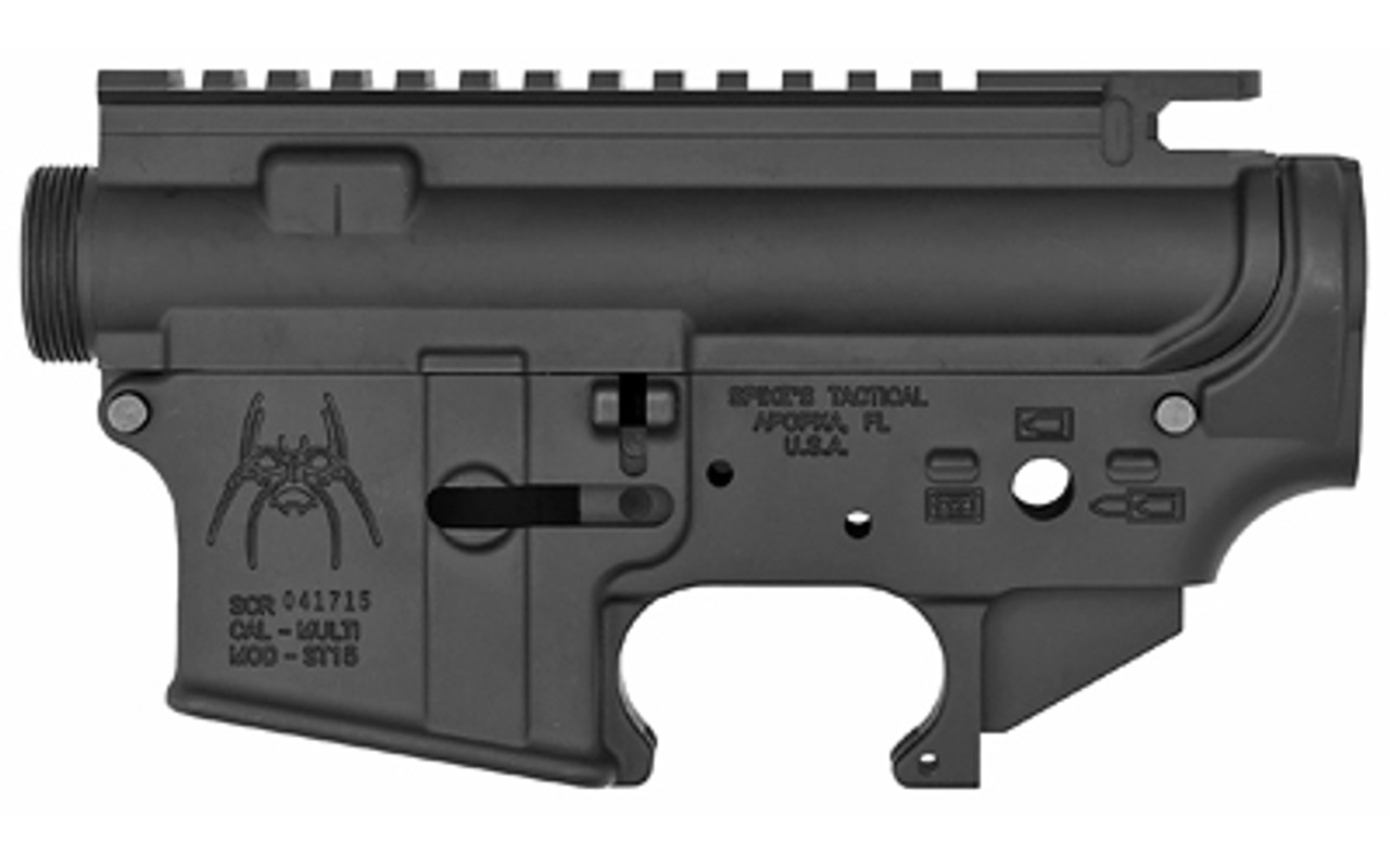 Spike's Tactical Stripped Upper/Lower Set Spider CALIFORNIA LEGAL - .223/5.56