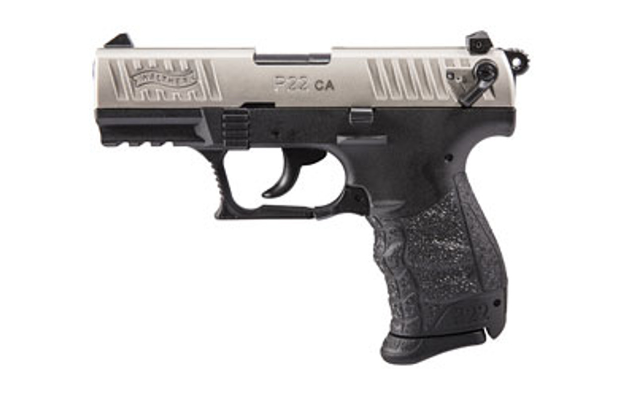 Walther P22 3.4in CALIFORNIA LEGAL - .22LR/ Nickle Slide