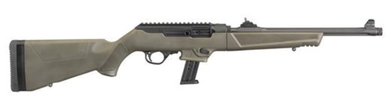 Ruger PC Carbine CALIFORNIA LEGAL - 9mm OD Green