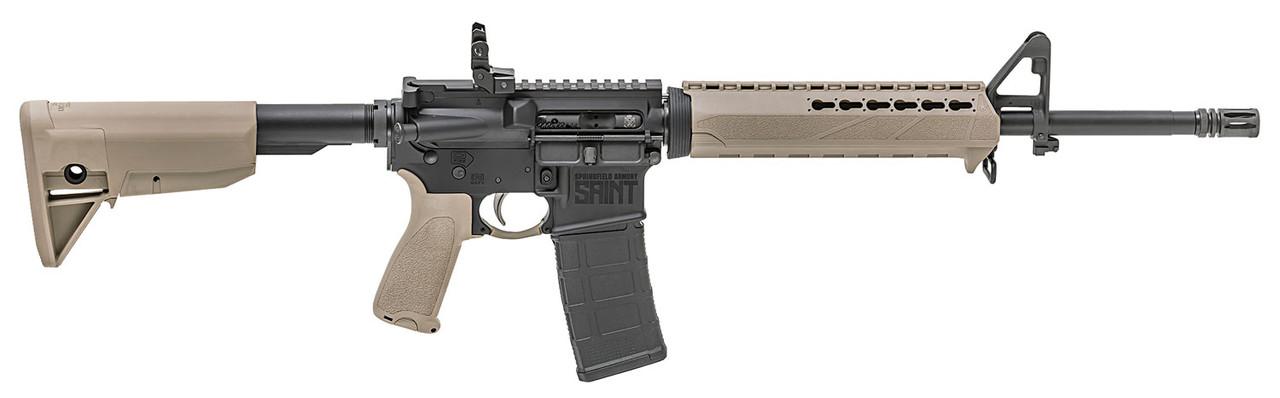 Springfield Armory Saint AR-15 Flat Dark Earth CALIFORNIA LEGAL - .223/5.56