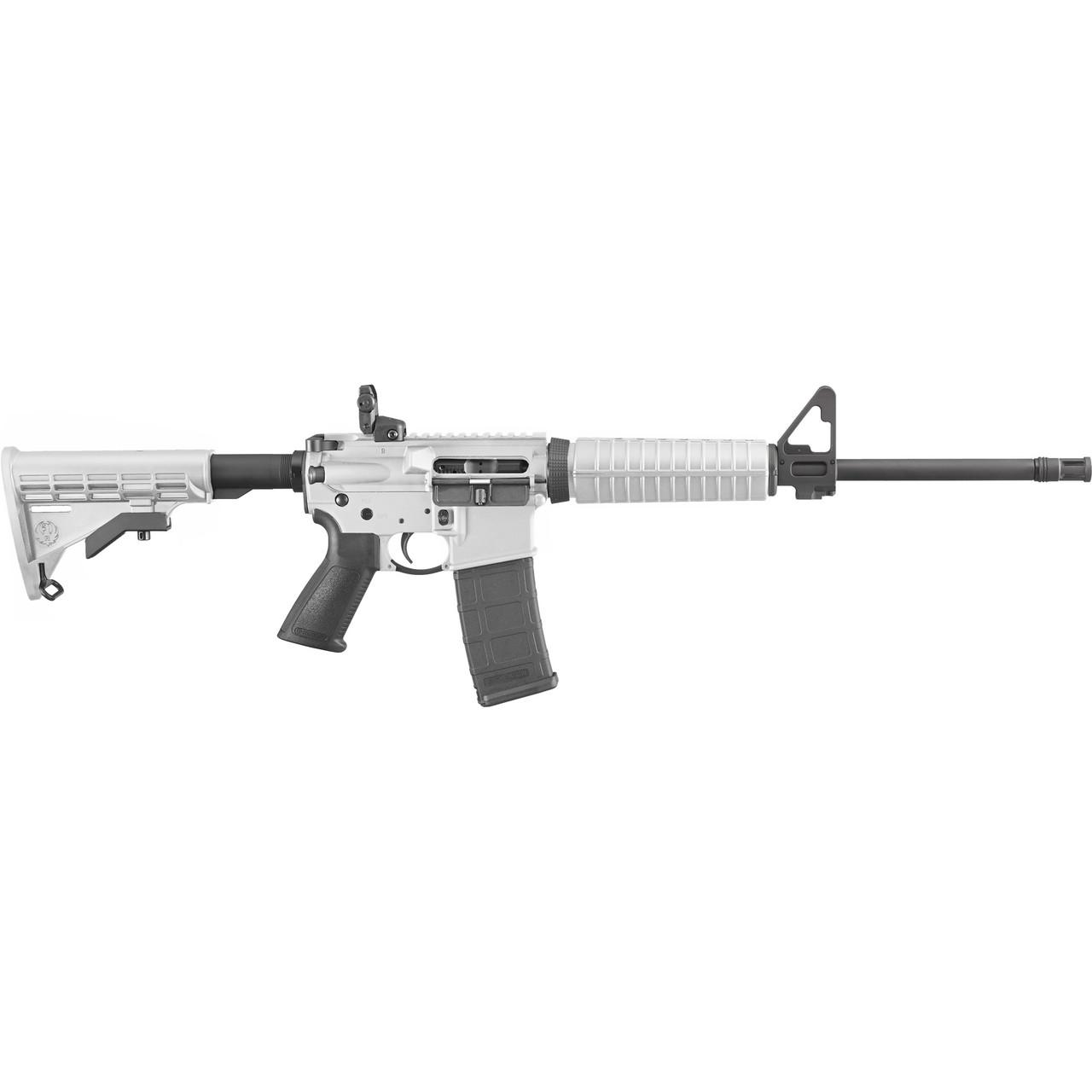 Ruger AR-556 CALIFORNIA LEGAL - .223/5.56 - White