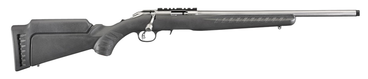 Ruger American Rimfire Threaded Stainless Barrel Bolt Action CALIFORNIA LEGAL - .22 Mag
