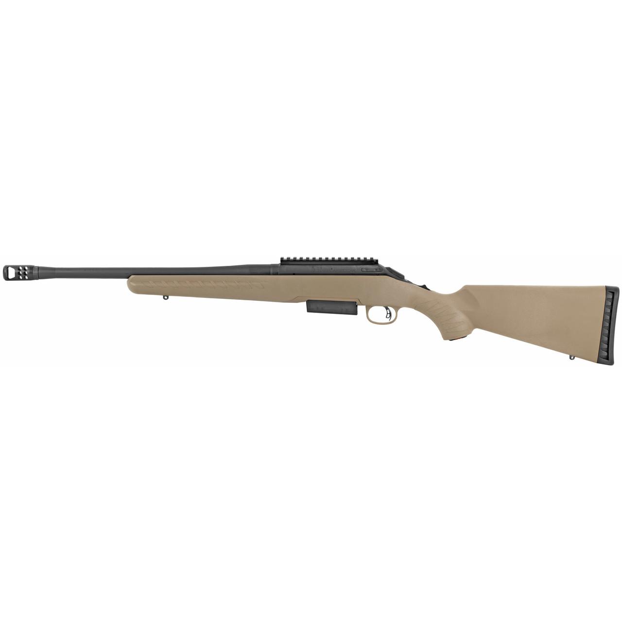 Ruger American Ranch Bolt Action CALIFORNIA LEGAL - .450 Bushmaster - FDE