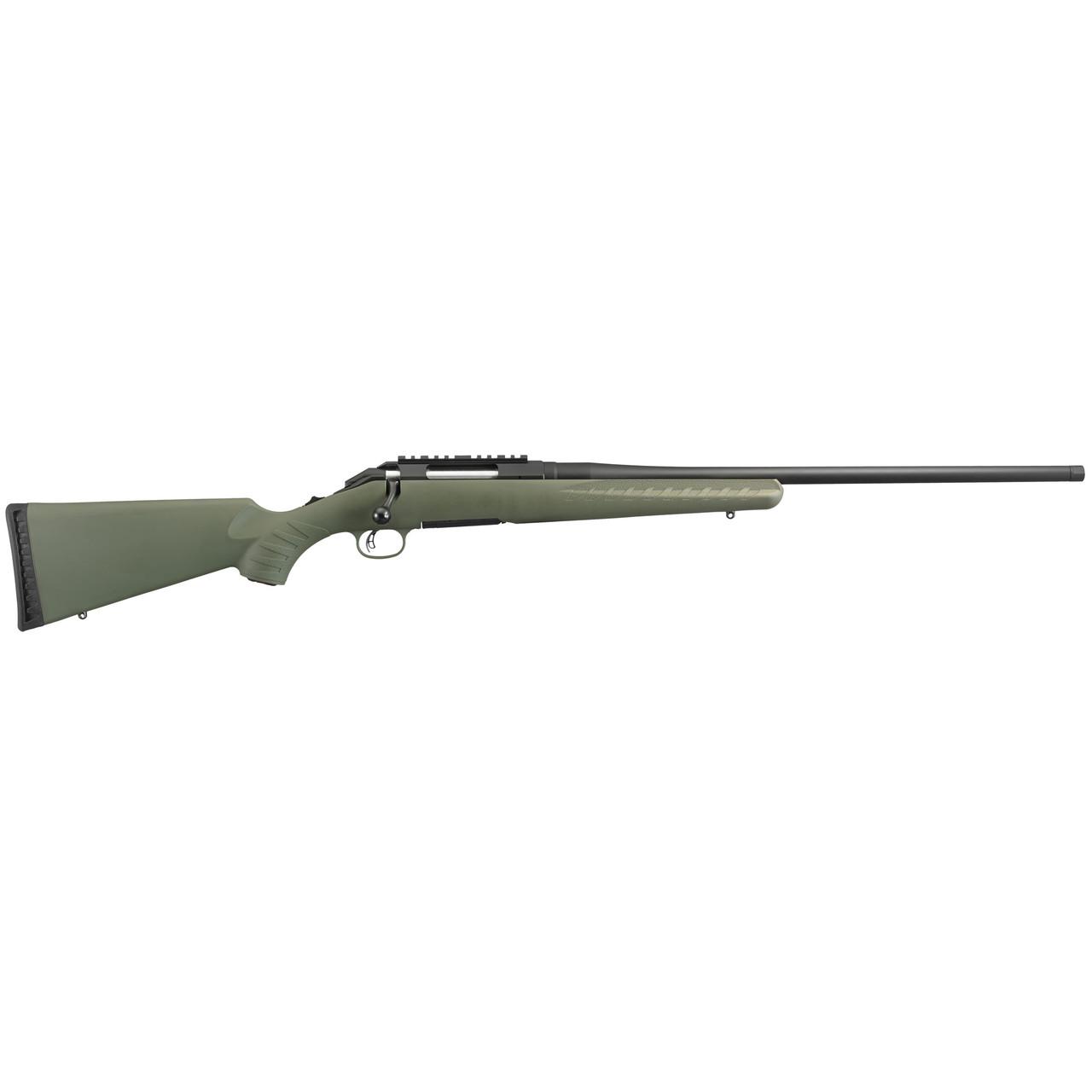 Ruger American Predator Flush Fit Mag CALIFORNIA LEGAL - 6.5 Creedmoor - Moss Green