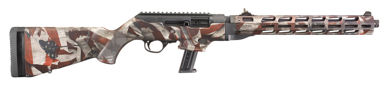 Ruger PC Carbine Takedown American Flag CALIFORNIA LEGAL - 9mm