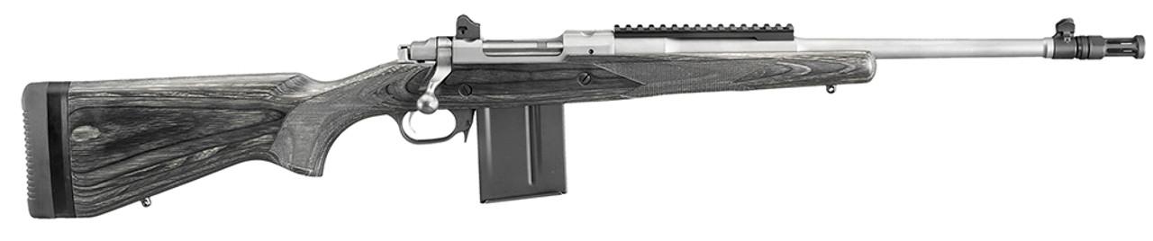 Ruger Gunsite Scout Bolt Action Black Laminate Stainless Barrel CALIFORNIA LEGAL - .308/7.62X51