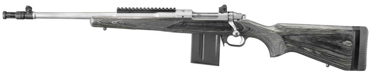 Ruger Scout Rifle Left Handed CALIFORNIA LEGAL - .308/7.62x51 - Black Laminate