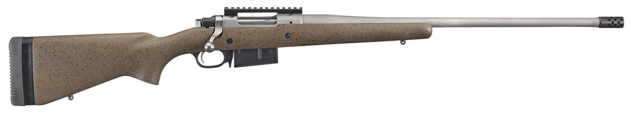 Ruger Hawkeye Long Range Hunter Bolt Action Brown CALIFORNIA LEGAL - 6.5 Creedmoor