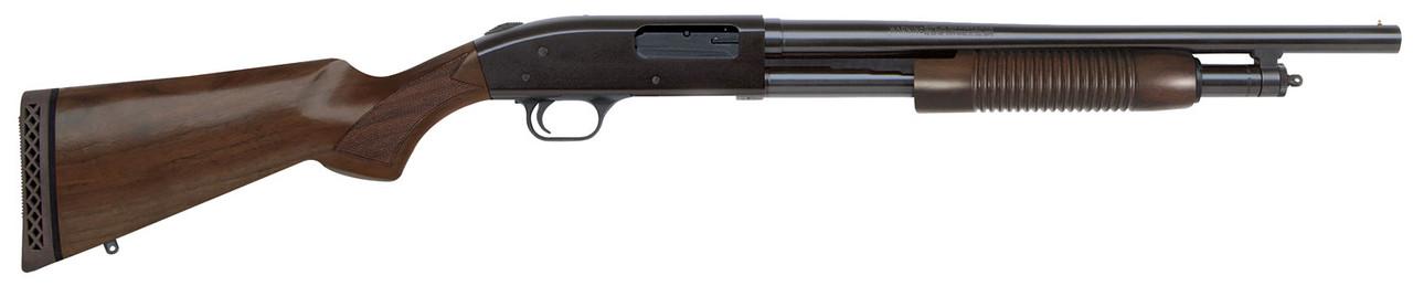 Mossberg 500 Retrograde Walnut Stock CALIFORNIA LEGAL - 12ga