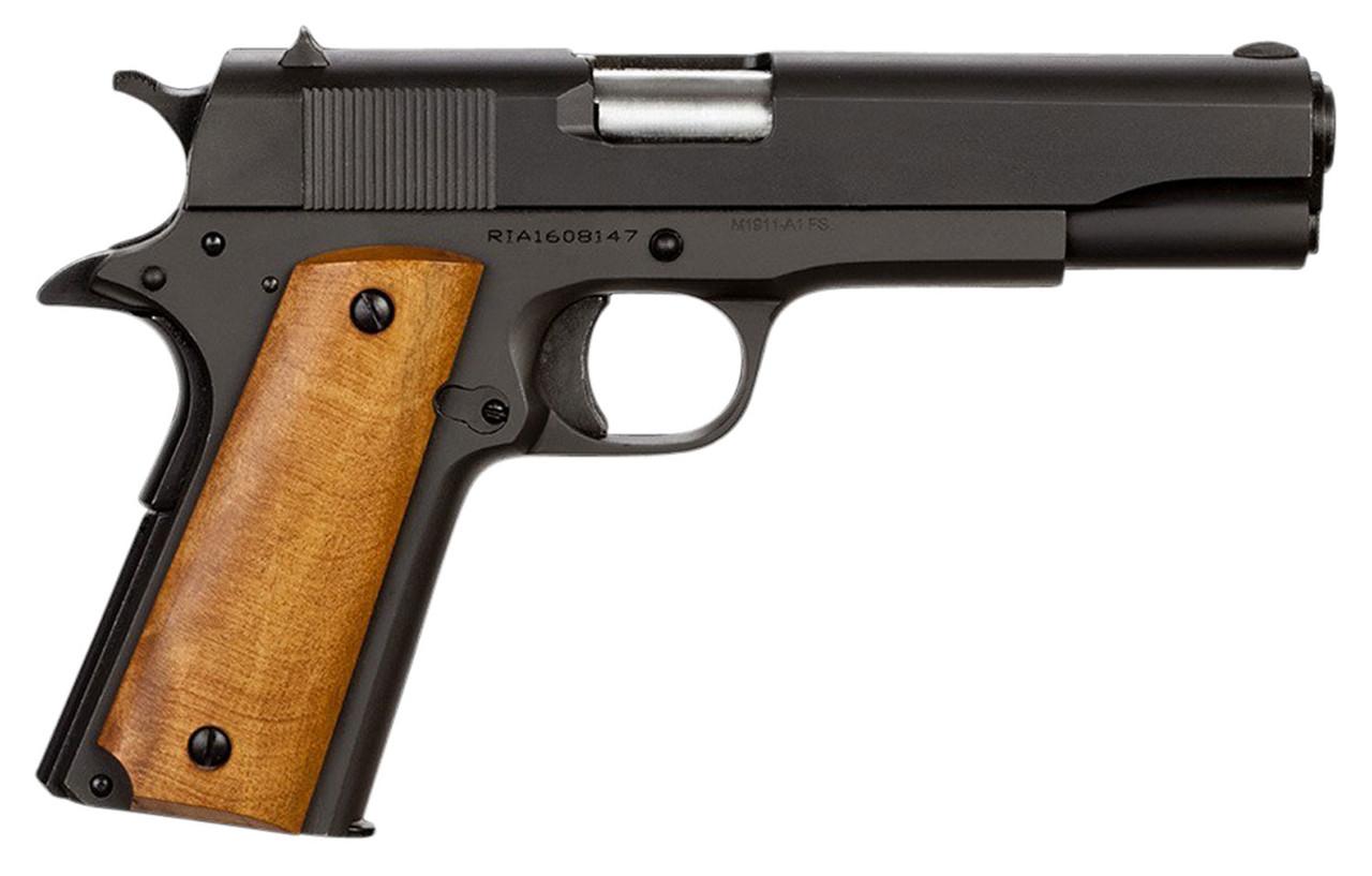 Rock Island GI Standard FS Wood Grip CALIFORNIA LEGAL - .38 Super