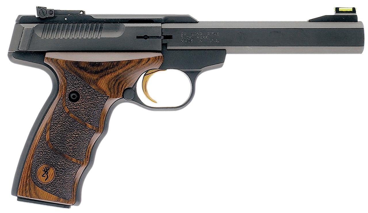 Browning Buck Mark Plus UDX Wood Grip CALIFORNIA LEGAL - .22 LR