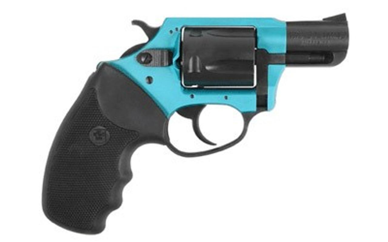 Charter Arms Sante Fe Sky Turquoise/Black CALIFORNIA LEGAL - .38 Spl