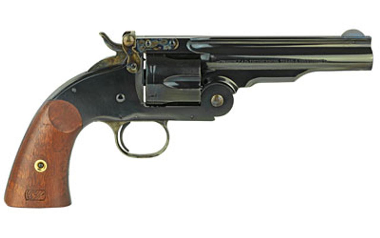 "Cimarron Model 3 Schofield Wood Grips 5"" CALIFORNIA LEGAL - .45 Colt"