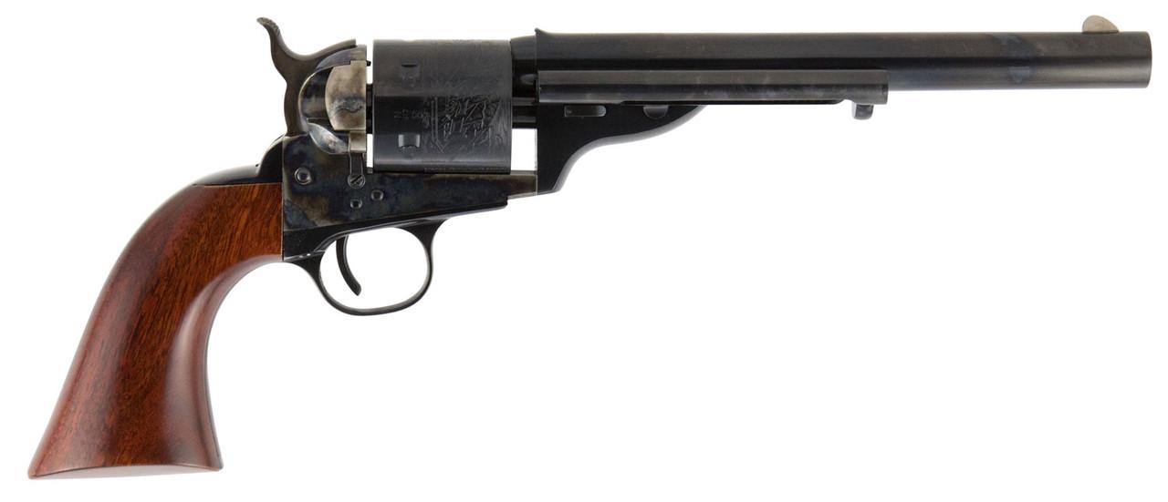 "Cimarron 1872 Open Top Army Wood Grip 7.5"" CALIFORNIA LEGAL - .45 Colt (2711)"