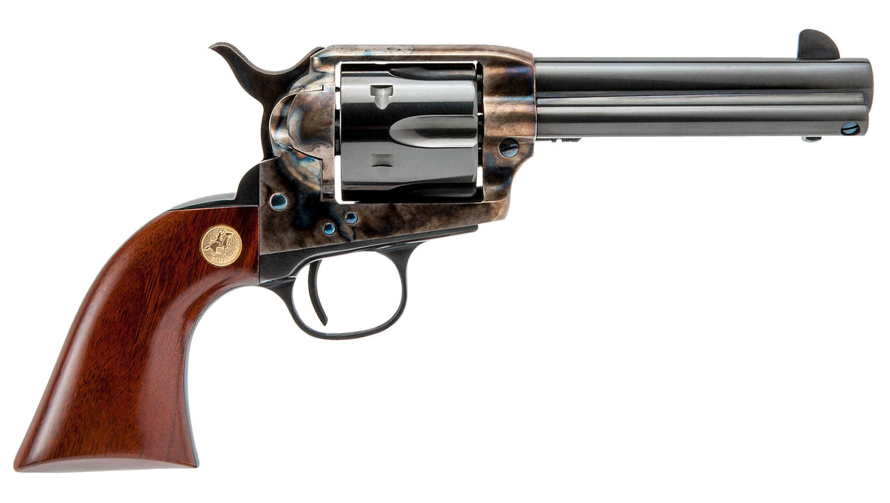 "Cimarron Model P Pre-War 1896-1940 Wood Grips 4.8"" CALIFORNIA LEGAL - .45 Colt"
