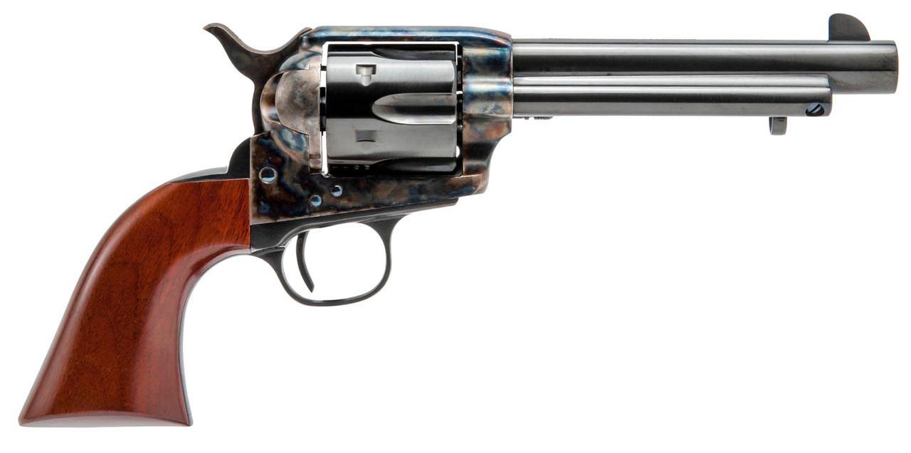 "Cimarron Model P Pre-War 1896-1940 Wood Grips 5.5"" CALIFORNIA LEGAL - .45 Colt"