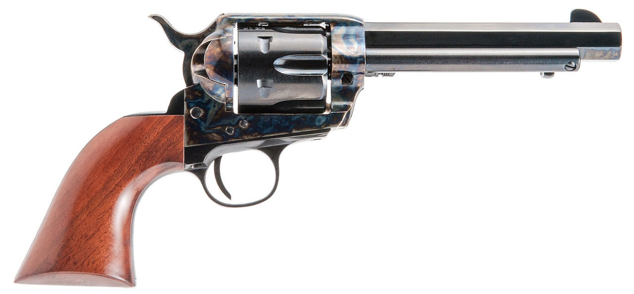 "Cimarron El Malo Pre-War 1896-1940 5.5"" Wood Grips CALIFORNIA LEGAL - .45 Colt"