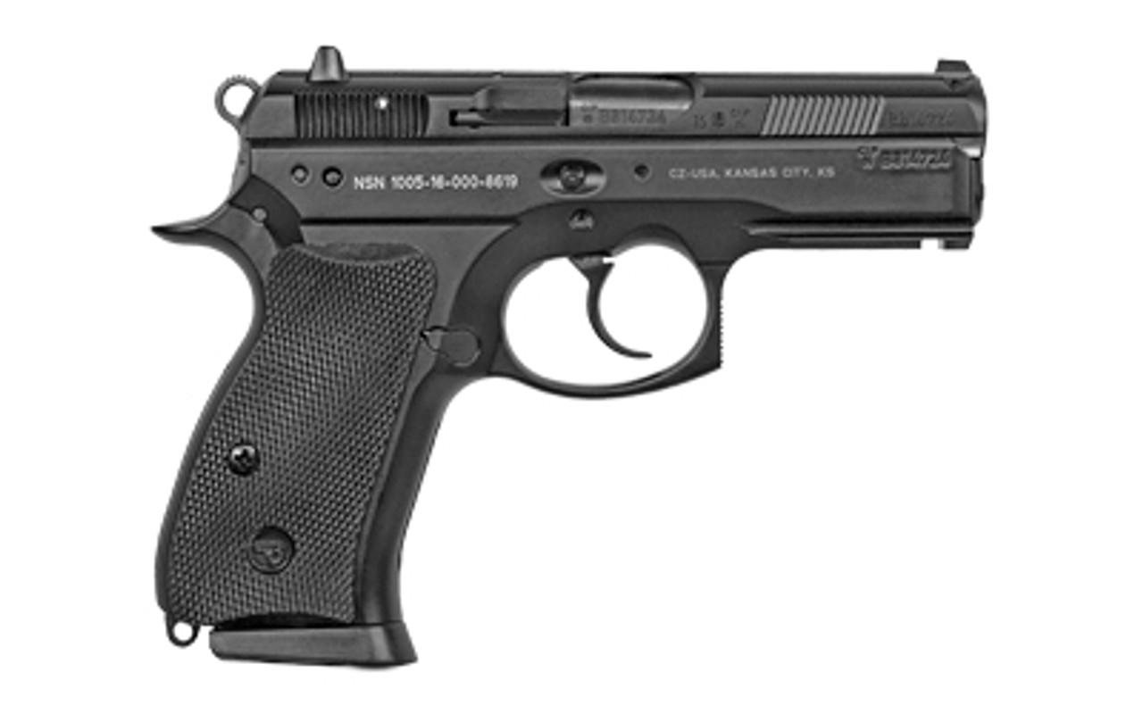 "CZ USA CZ 75 P-01 3.9"" CALIFORNIA LEGAL - 9mm"