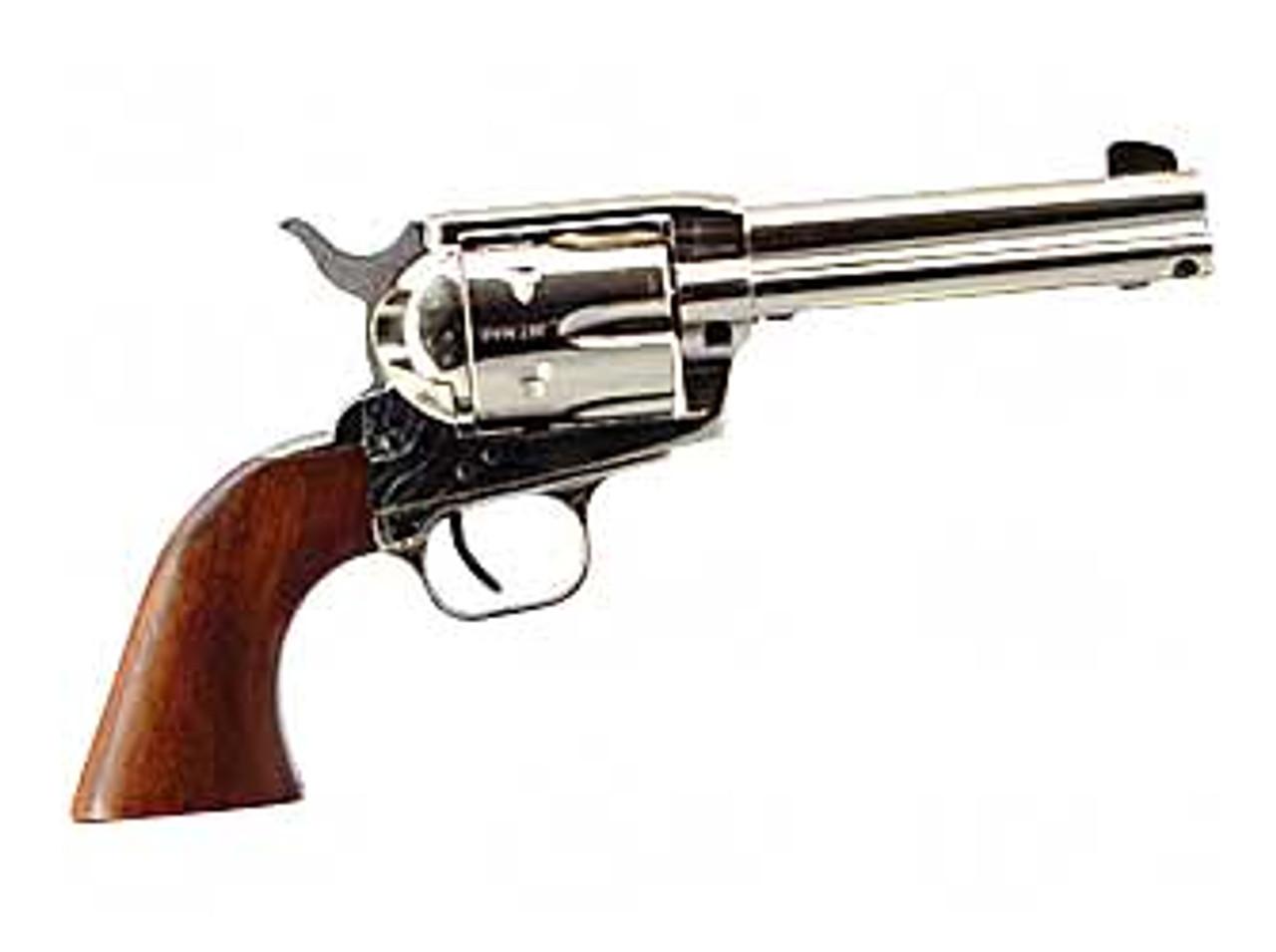 "EAA Bounty Hunter Revolver Nickel W/ Walnut Grips 4.5"" CALIFORNIA LEGAL - .45 Colt"