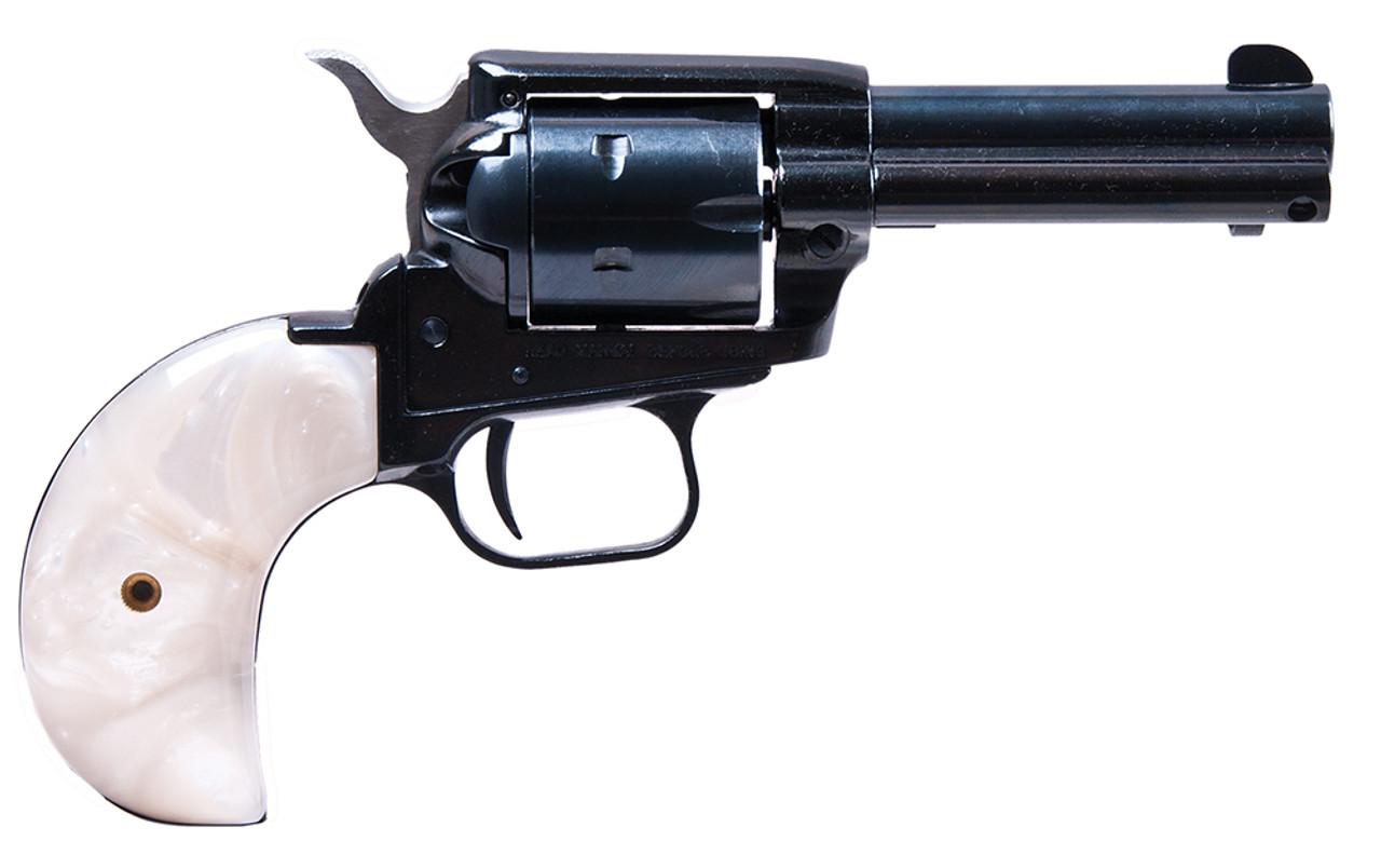 """Heritage Rough Rider Small Bore 6Rd White Bird Head Grip 3.5"""" CALIFORNIA LEGAL - .22 WMR"""