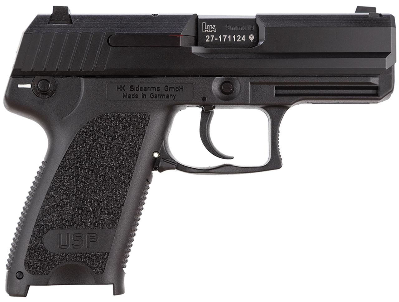 "HK USP 9 C Compact V1 3.6"" CALIFORNIA LEGAL - 9mm"