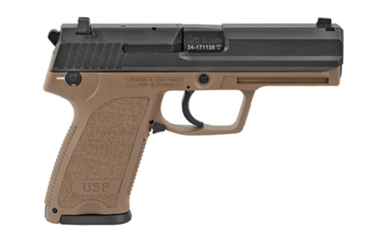 "HK USP V1 FDE 4.3"" CALIFORNIA LEGAL - 9mm"