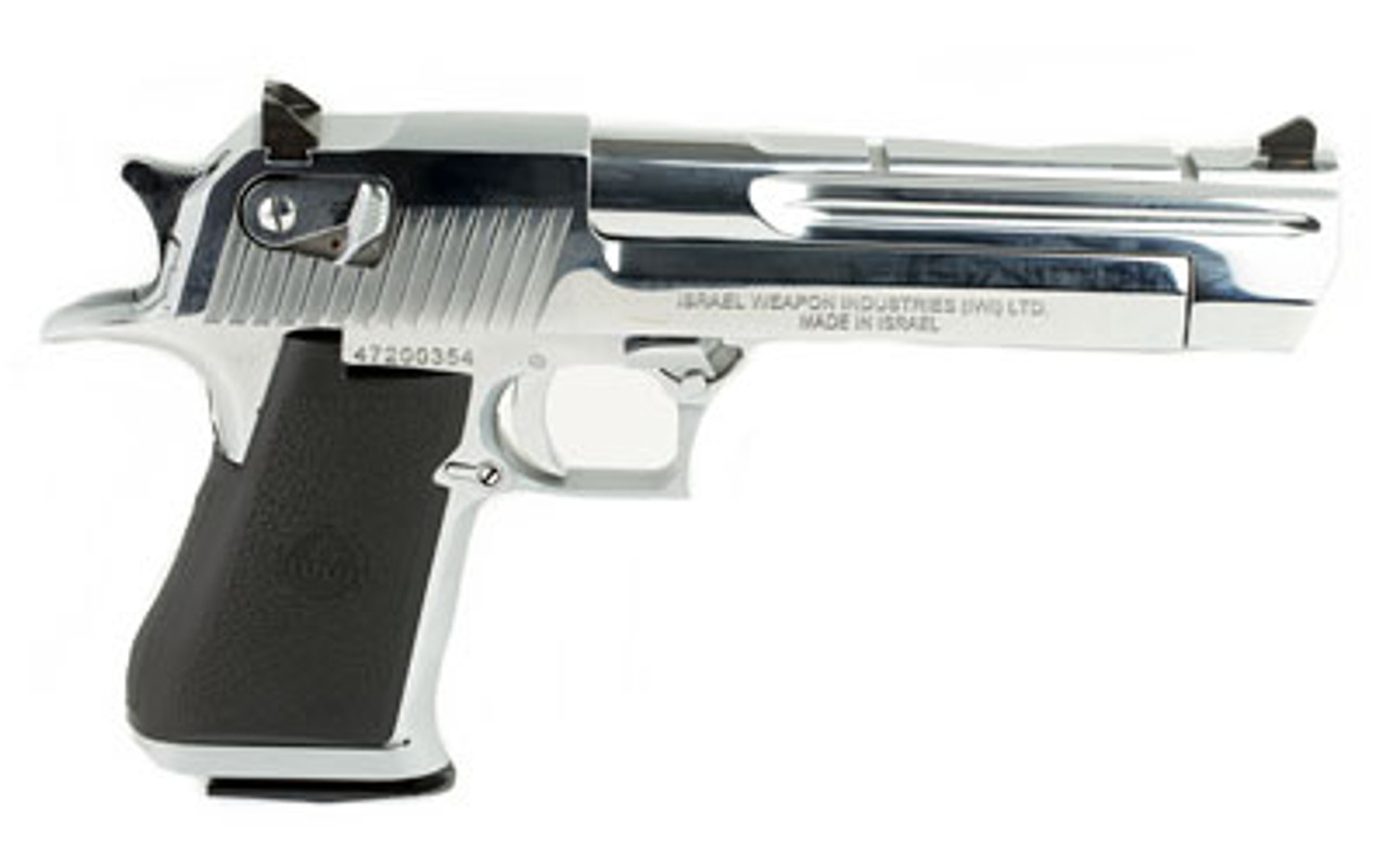 "Magnum Research Desert Eagle Full Size Chrome 6"" CALIFORNIA LEGAL - .44 Mag"