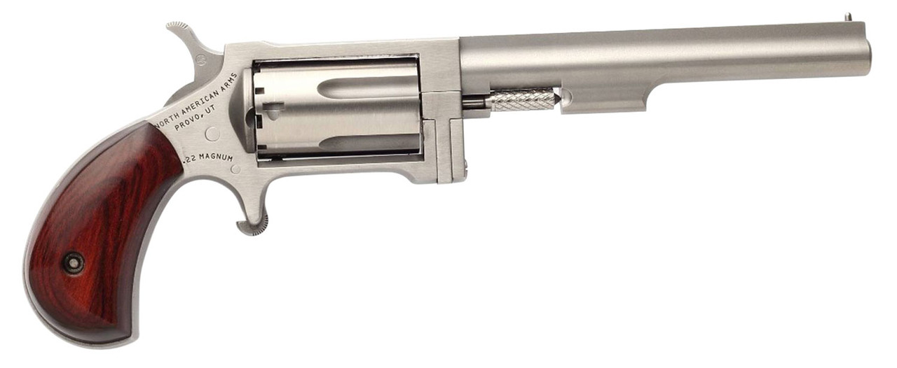 """NAA Sidewinder 4"""" Stainless CALIFORNIA LEGAL - .22 Mag"""