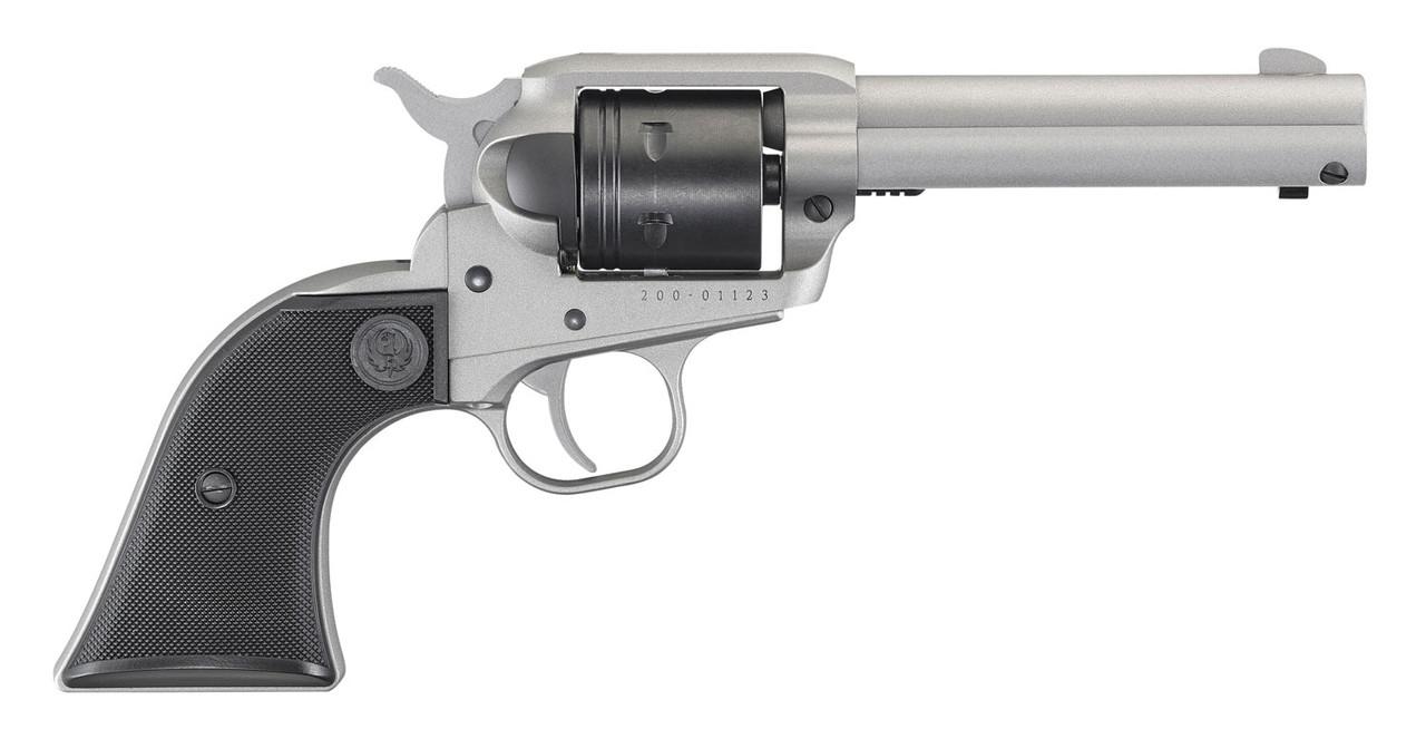 "Ruger Wrangler Silver 4.6"" CALIFORNIA LEGAL - .22 LR"