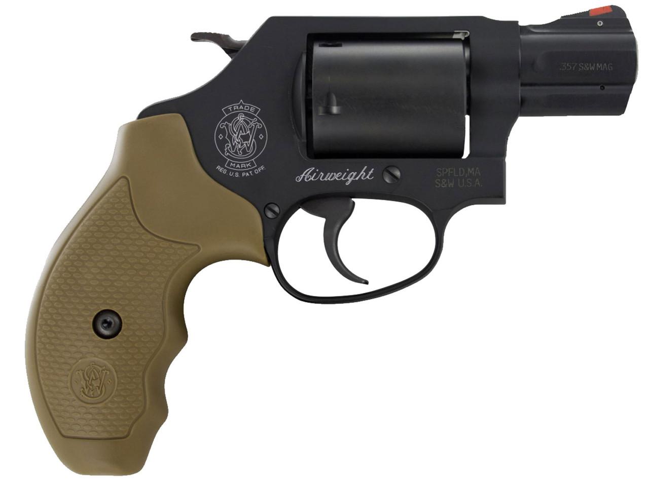 "Smith & Wesson 360 FDE Grip 1.9"" CALIFORNIA LEGAL - .357 Mag"