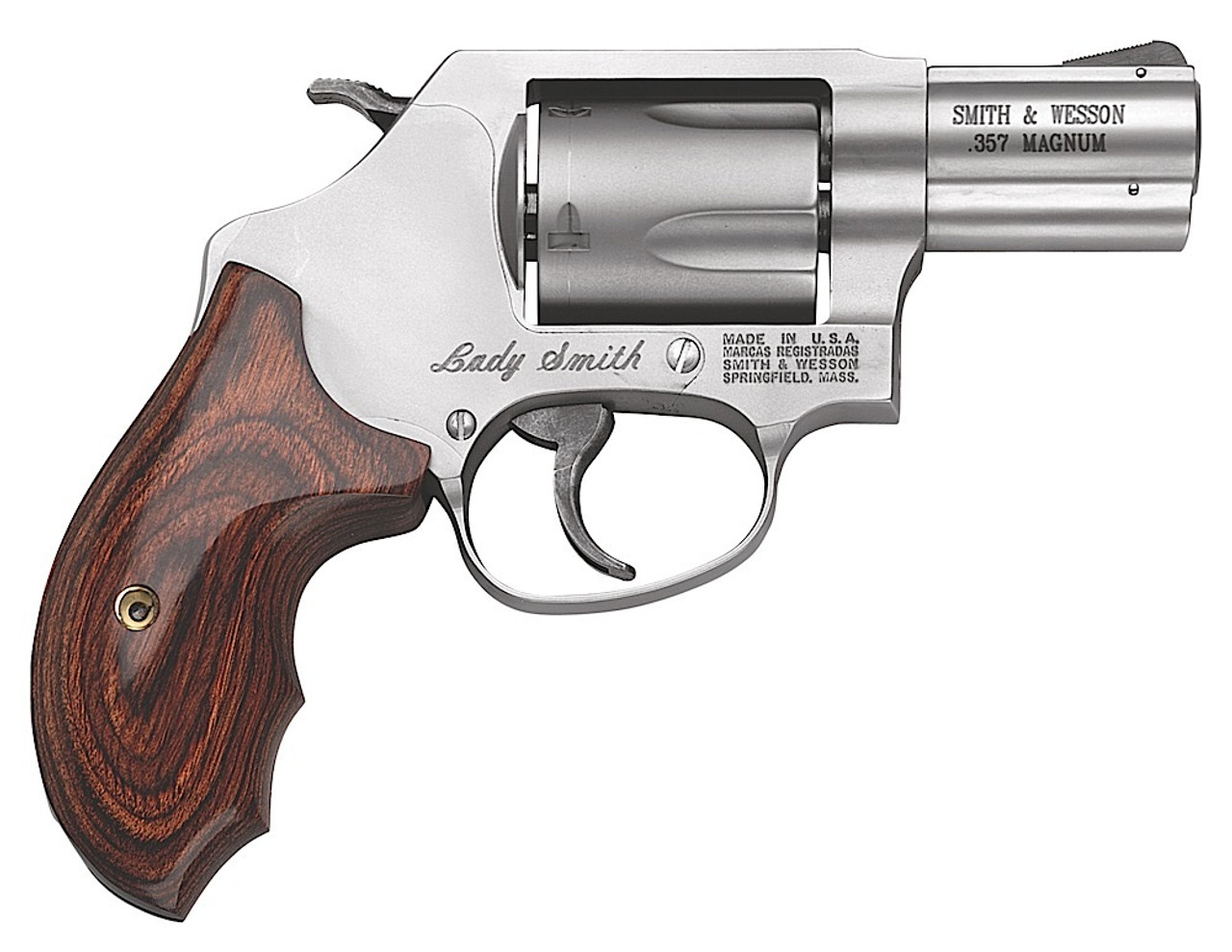 """Smith & Wesson 60 Ladysmith Stainless 2.1"""" CALIFORNIA LEGAL - .357 Mag"""