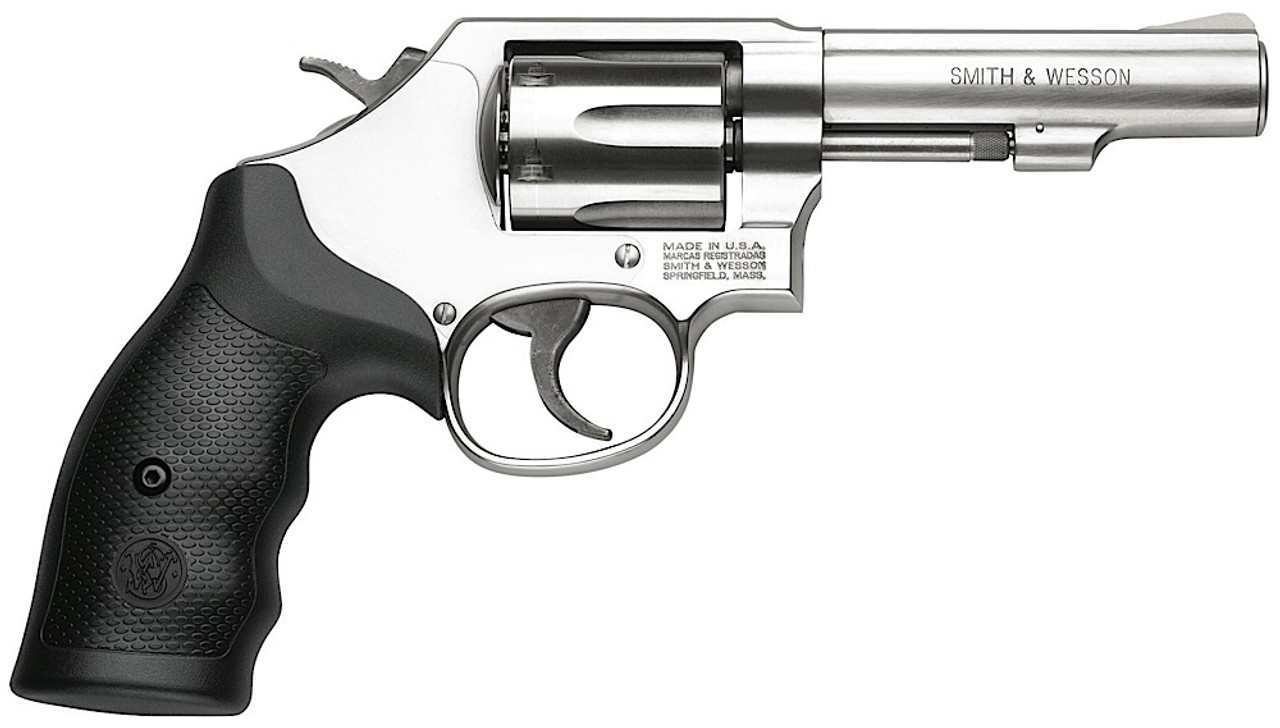 """Smith & Wesson 64 Military & Police Stainless 4.1"""" CALIFORNIA LEGAL - .38 Spl"""
