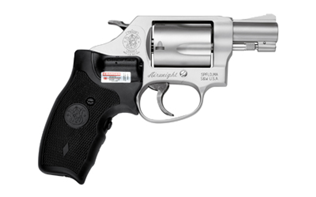 """Smith & Wesson 637 Airweight Crimson Trace Lasergrip Stainless 1.9"""" CALIFORNIA LEGAL - .38 Spl"""