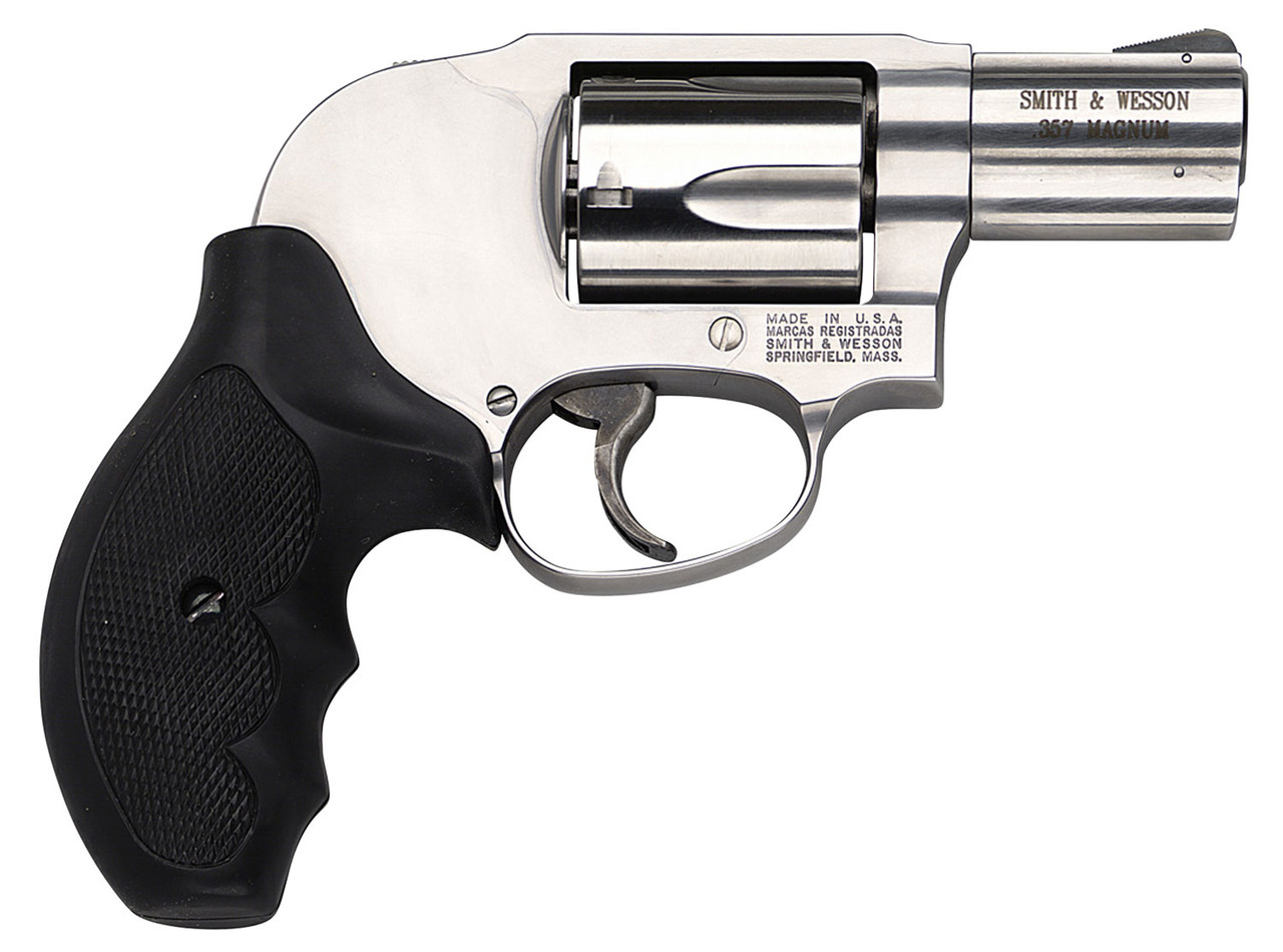 """Smith & Wesson 649 Shrouded Hammer Stainless 2.1"""" CALIFORNIA LEGAL - .357 Mag"""