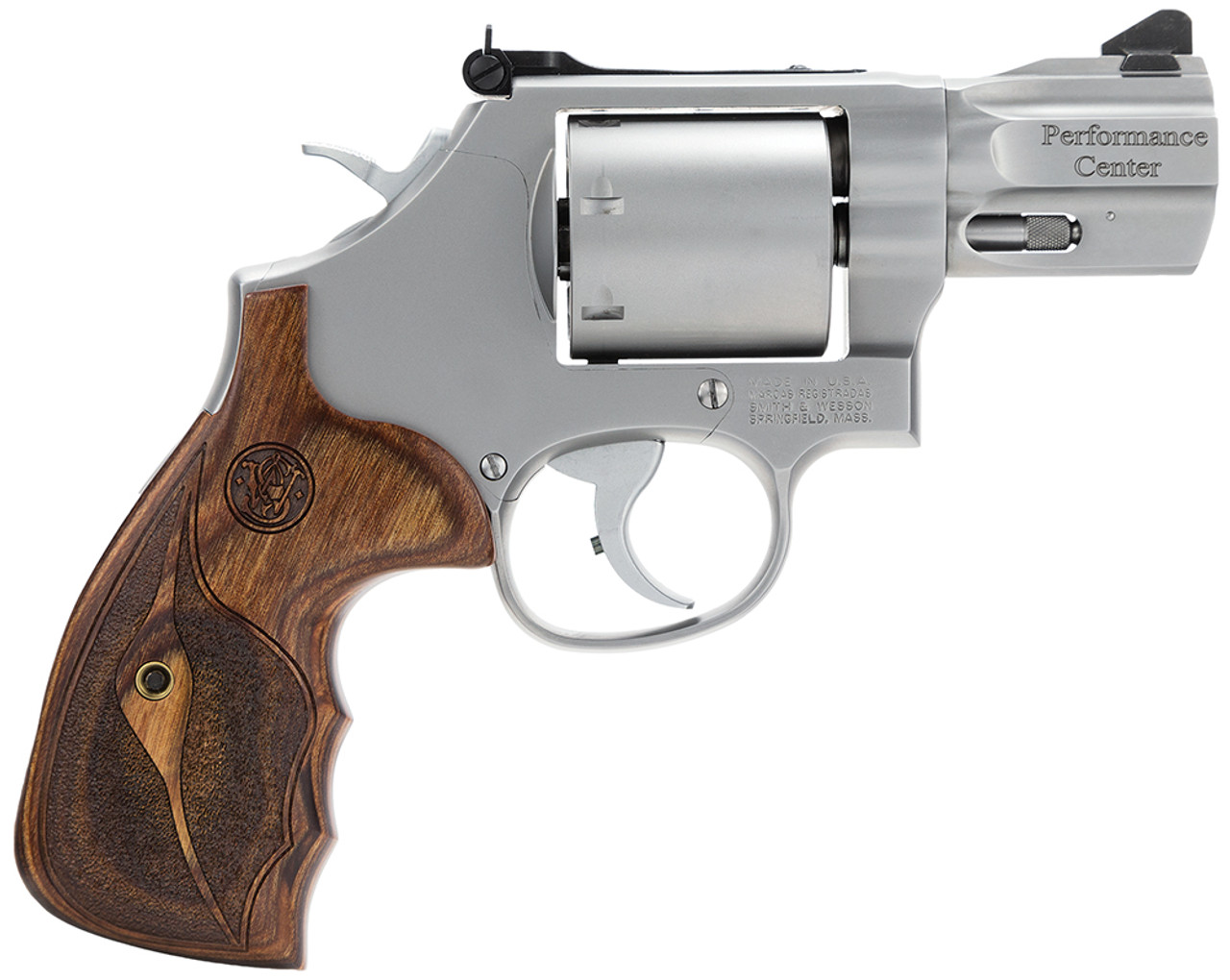"""Smith & Wesson 686 Performance Center Stainless 2.5"""" CALIFORNIA LEGAL - .357 Mag"""