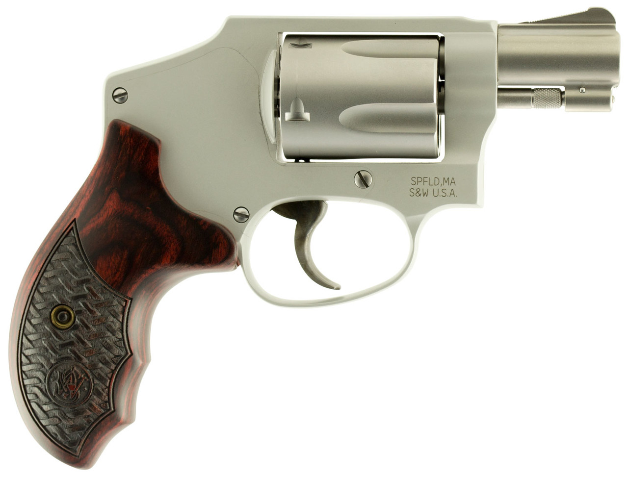 """Smith & Wesson 642 Performance Center Stainless 1.9"""" CALIFORNIA LEGAL - .38 Spl"""
