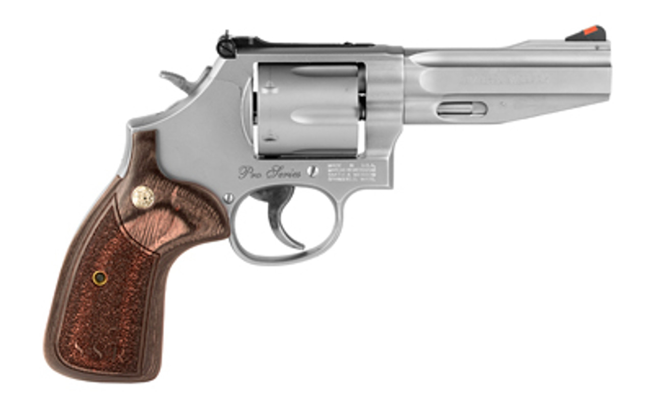 """Smith & Wesson 686 Pro SSR Stainless 4"""" CALIFORNIA LEGAL - .357 Mag"""