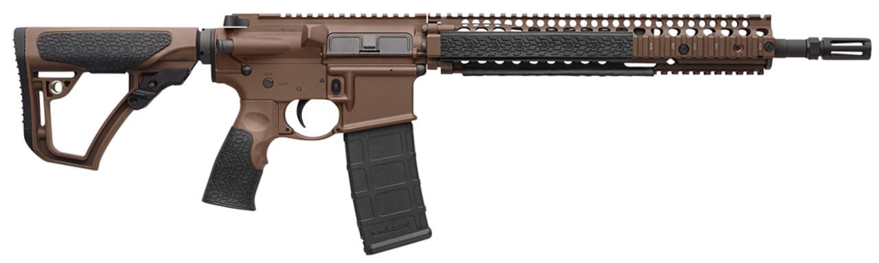 Daniel Defense DDM4 M4A1 Brown CALIFORNIA LEGAL - .223/5.56
