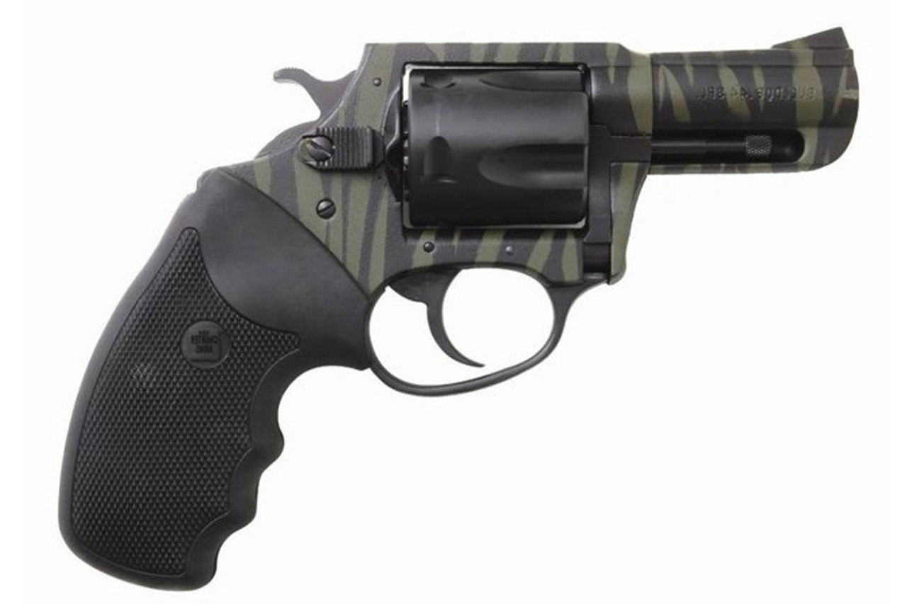 """Charter Arms Mag Pug Series Tiger III Green/Black 2.2"""" CALIFORNIA LEGAL - .357 Mag/ .38 Special"""