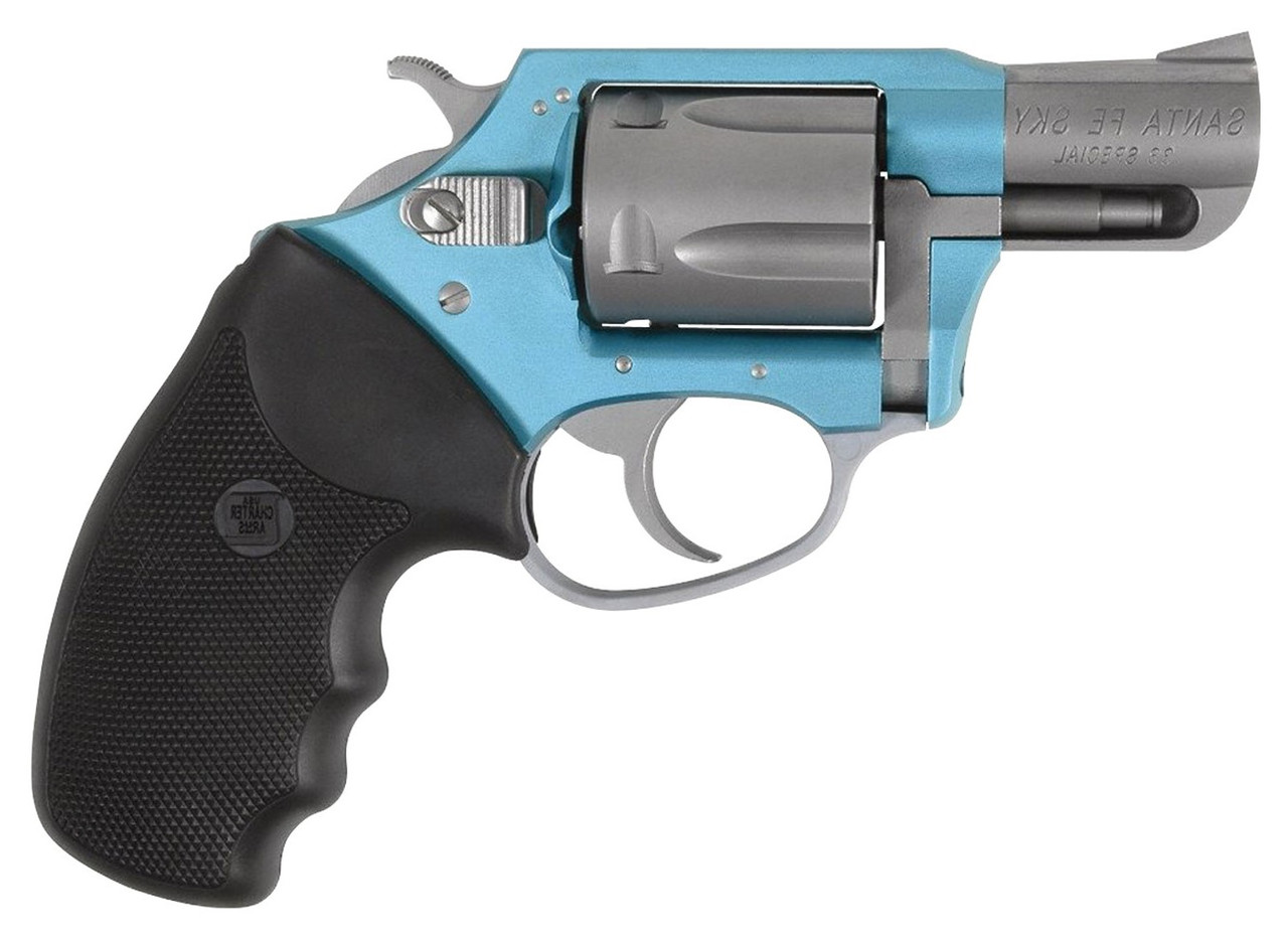 """Charter Arms Undercover Lite Santa Fe Turquoise/Stainless 2"""" CALIFORNIA LEGAL - .38 Special"""