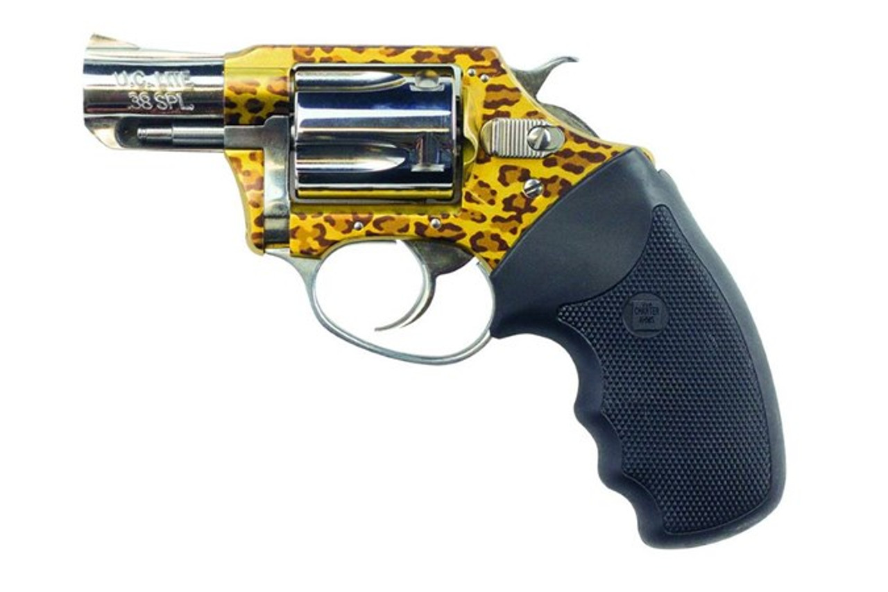 """Charter Arms Undercover Series Leopard 2"""" CALIFORNIA LEGAL .38 Special"""