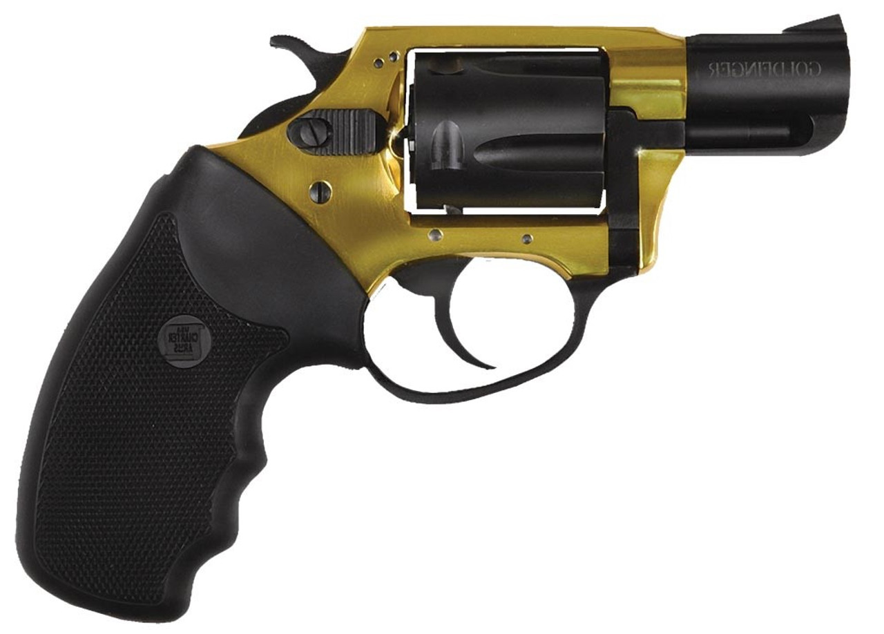 """Charter Arms Undercover Lite Goldfinger Gold/Black 2"""" CALIFORNIA LEGAL - .38 Special"""