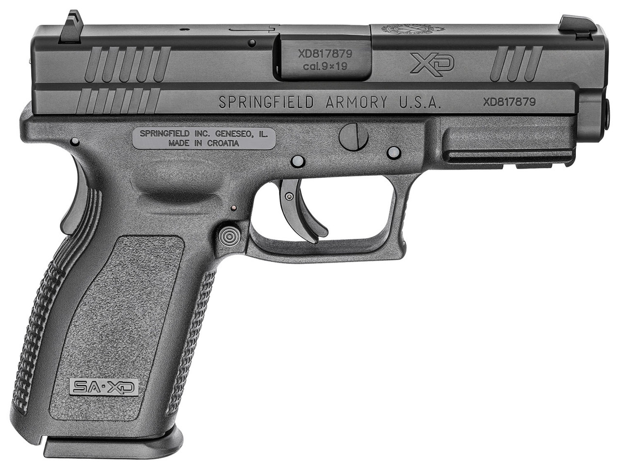 "Springfield Armory XD 4"" CALIFORNIA LEGAL - 9mm"