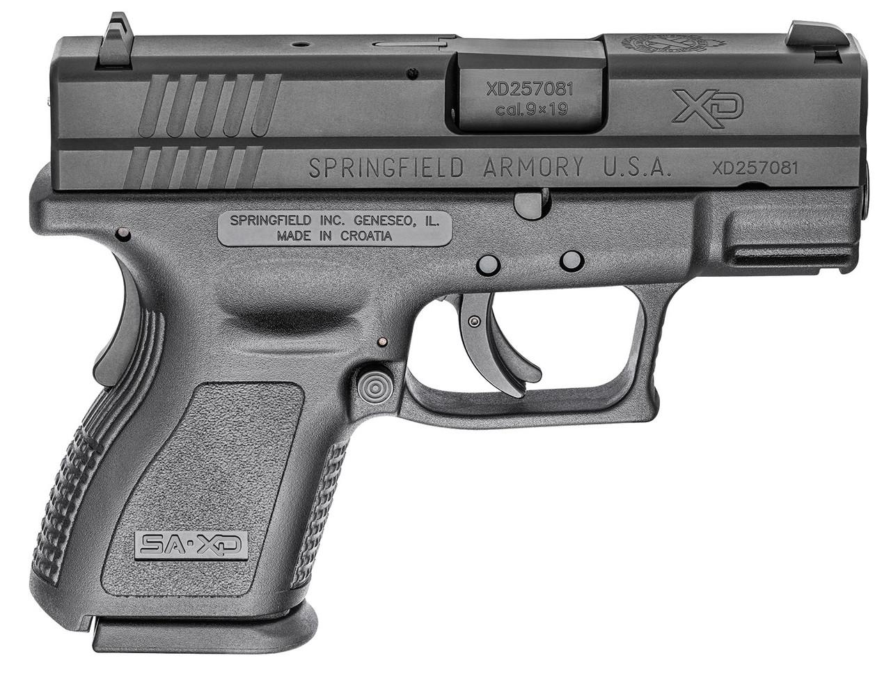 "Springfield Armory XD Sub-Compact 3"" CALIFORNIA LEGAL - 9mm"