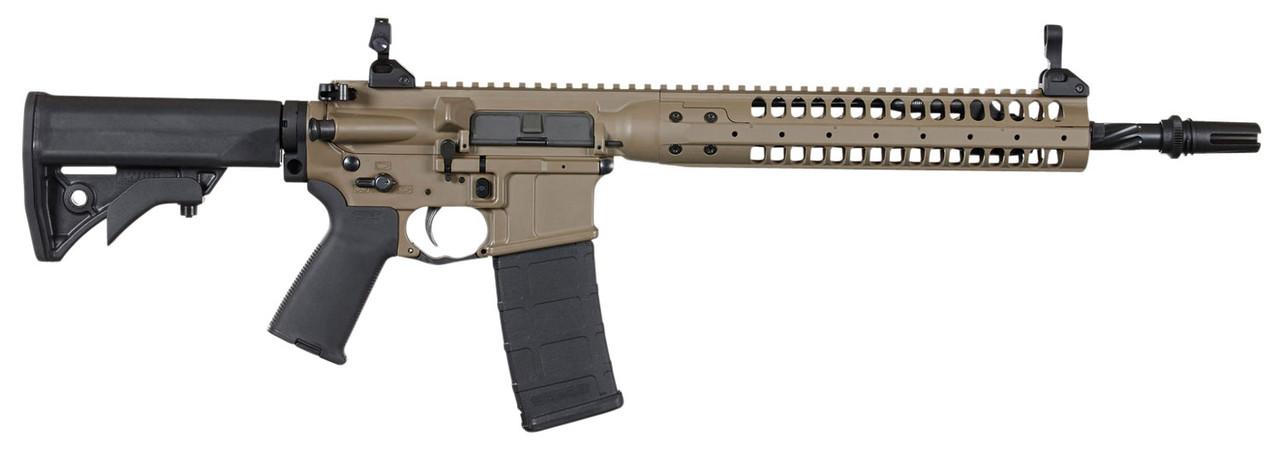 "LWRC Individual Carbine SPR Brown 14.7"" CALIFORNIA LEGAL - .223/5.56"