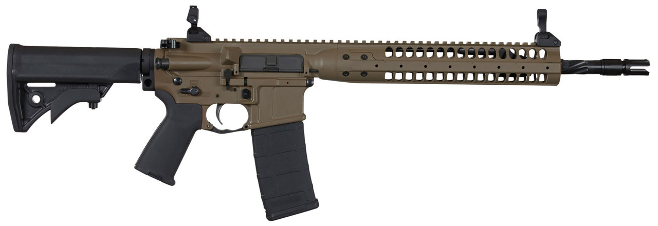 "LWRC Individual Carbine SPR FDE 14.7"" CALIFORNIA LEGAL - .223/5.56"