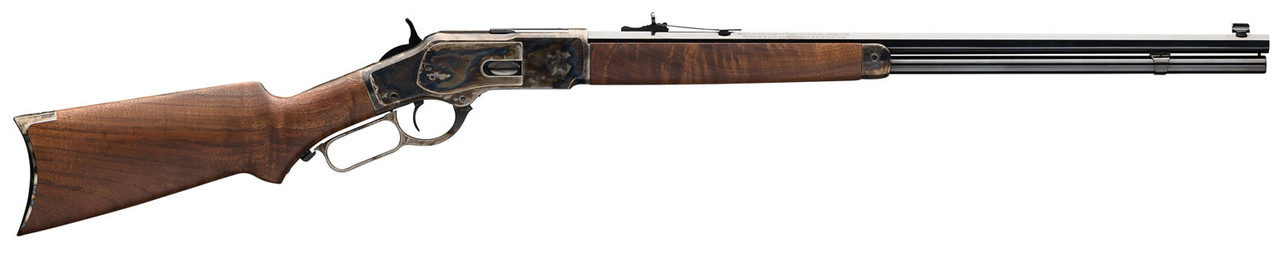 "Winchester 1873 Sporter Brown 24"" CALIFORNIA LEGAL - .45 Colt"