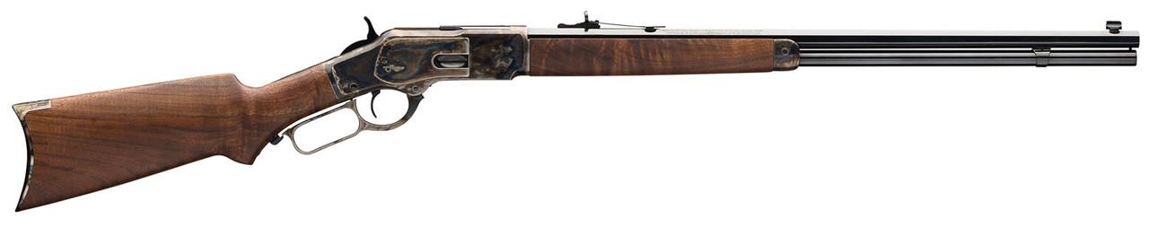 "Winchester 1873 Sporter Brown 24"" CALIFORNIA LEGAL - .45 Colt"