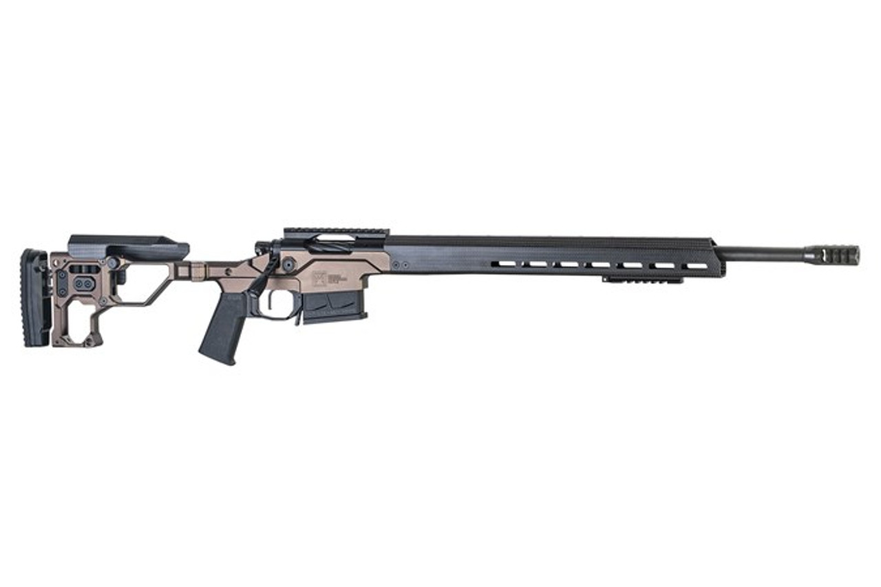 "Christensen Arms MPR 20"" M-Lok Contoured Barrel CALIFORNIA LEGAL - .308/7.62x51 - Desert Brown/Carbon Fiber"